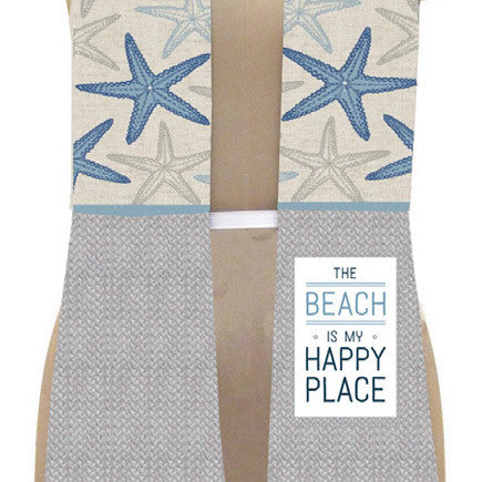 'Beach is My Happy Place' Kitchen Boa®