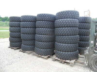 Michelin 395/85R20 XZL tires 90%  tread Good shape!