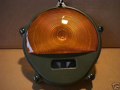 2.5 TON M35A2 M SERIES FRONT TURN PARK LIGHT COVER ONLY