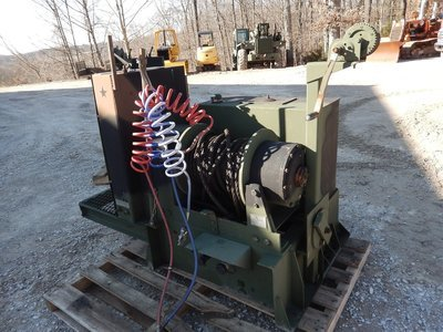 DP 45000 LBS Military Winch M916 M920 Very nice Aux hydraulics
