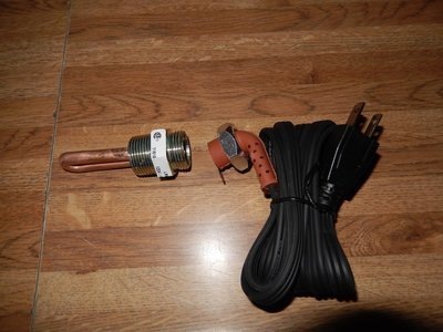 M35A2 block heater cold weather start