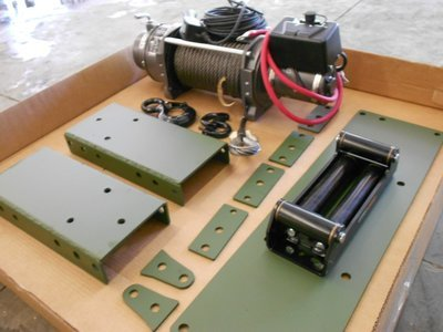 Winch Kits M35A2 M35A3 or mount kit