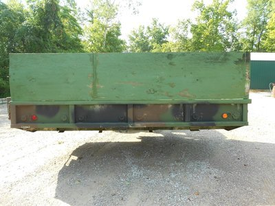 GOOD USED 12' CARGO BED FROM A M35A3 will fit M35 M35a2 with troop seats
