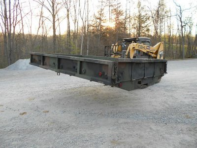 GOOD USED 12' CARGO BED FROM A M35A3 OUT OF STOCK keep checking