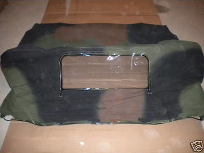 New Military spec USA made camo soft top 2.5-5 ton