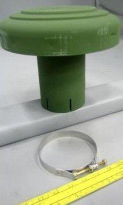 M35A2 2.5 TON NEW AIR CLEANER CAP MUSHROOM 5 TON M800