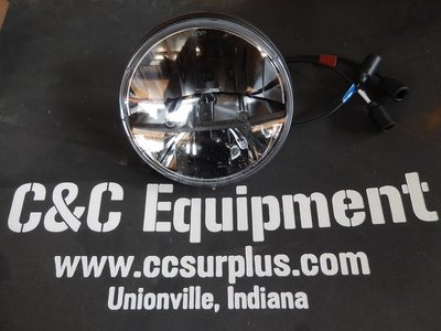 LED front headlamp NEW Style 12 or 24 volt