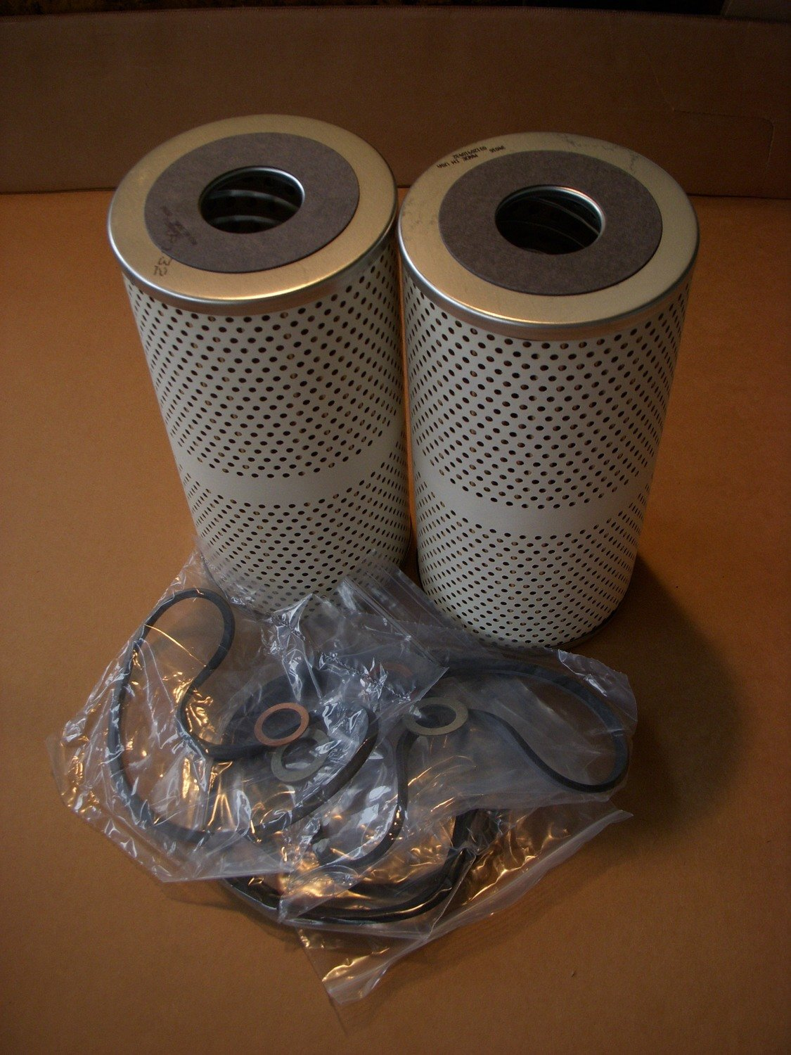 2.5 and 5 ton multi-fuel oil filter set