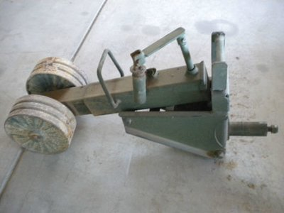 Good used m105 dual wheel trailer jack CALL FIRST TO MAKE SURE I HAVE ONE