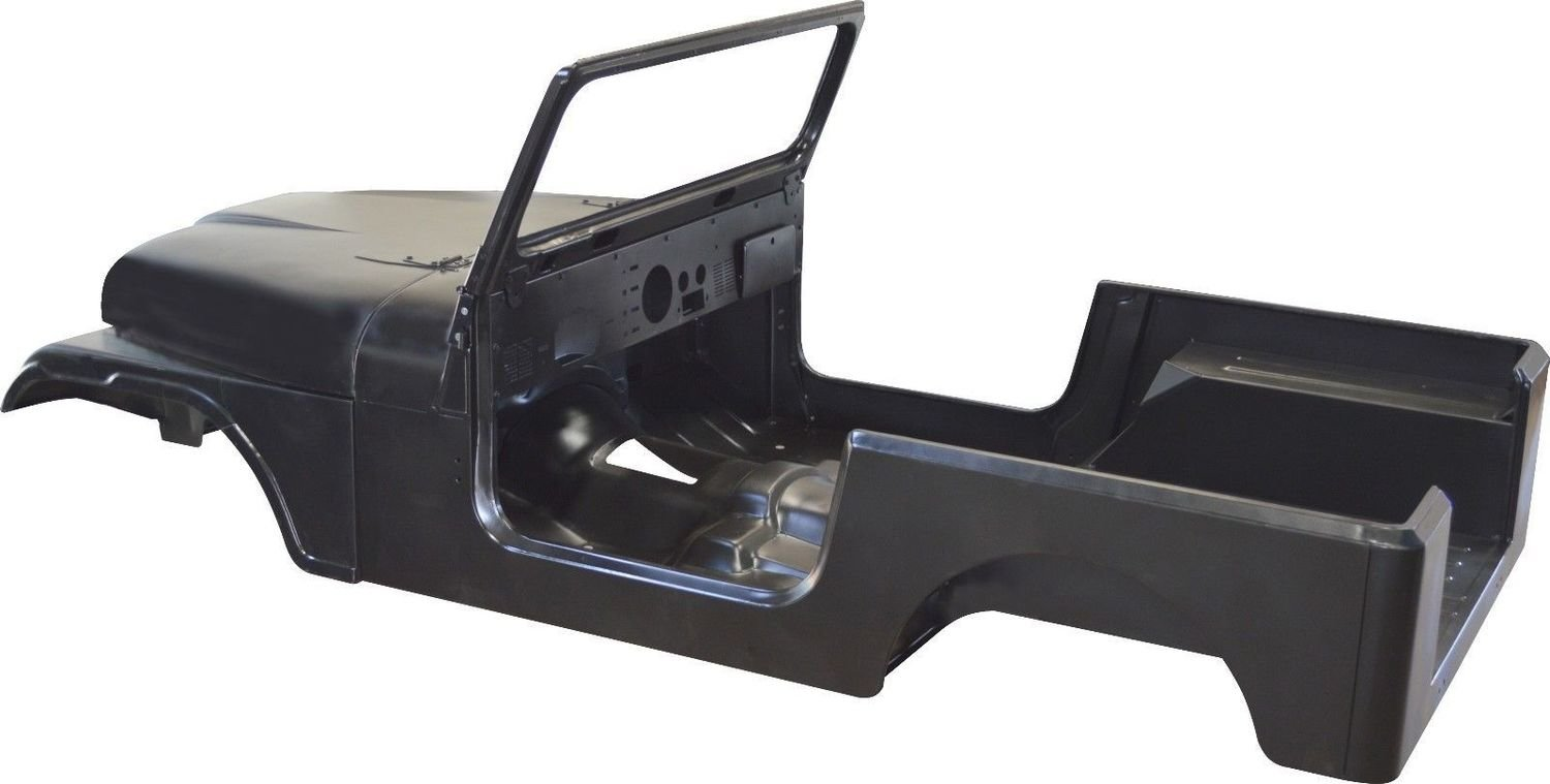 1976-1986 CJ7 BODY TUB KIT AMC JEEP M0000-10120-03-00 several available