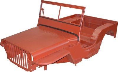 1942-43 MB MASTER BODY TUB KIT WILLYS JEEP CJ2A MBK005 GPW