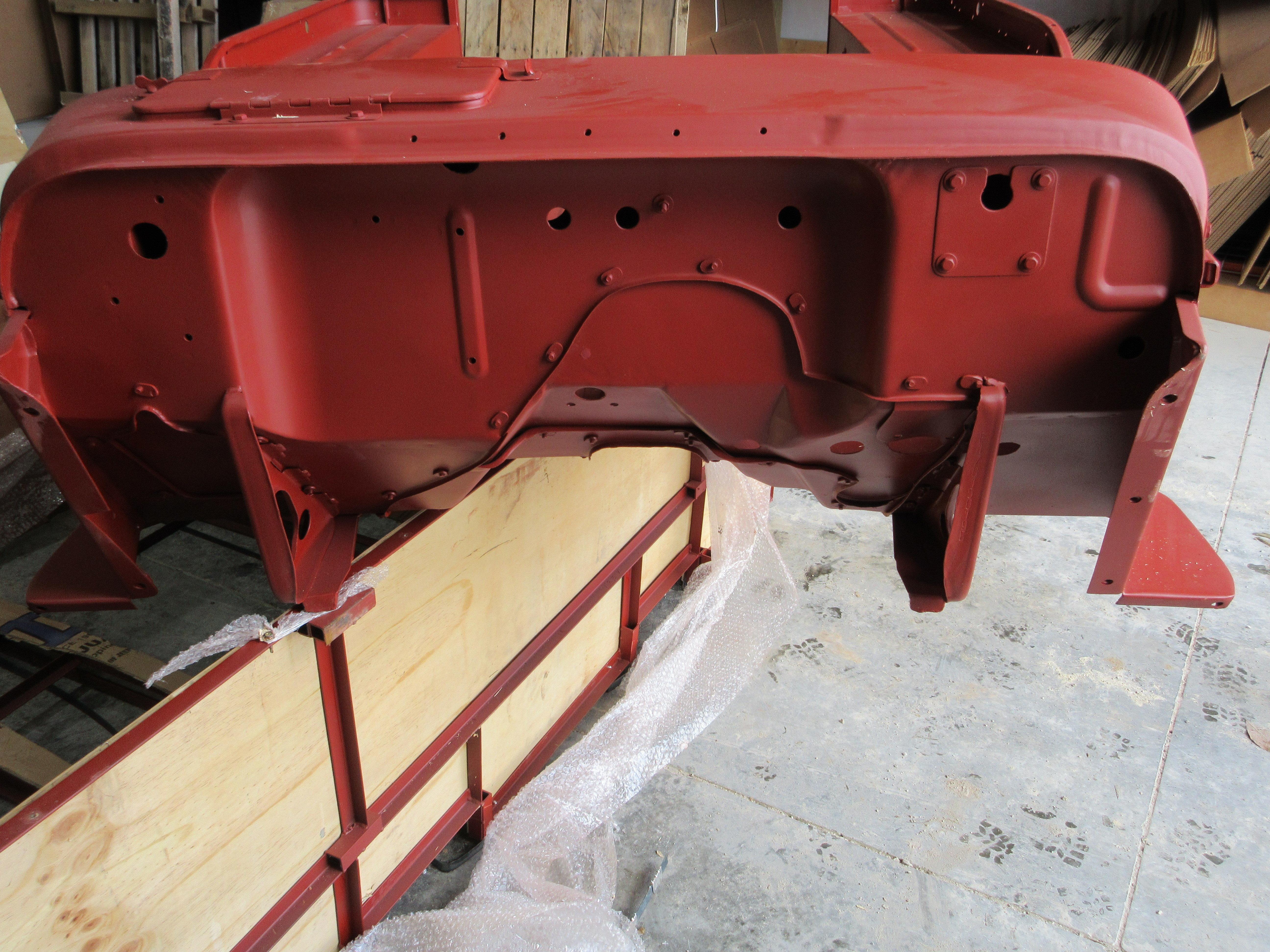 1950-1952 M38 BODY TUB KIT WILLYS Kaiser JEEP MBK026