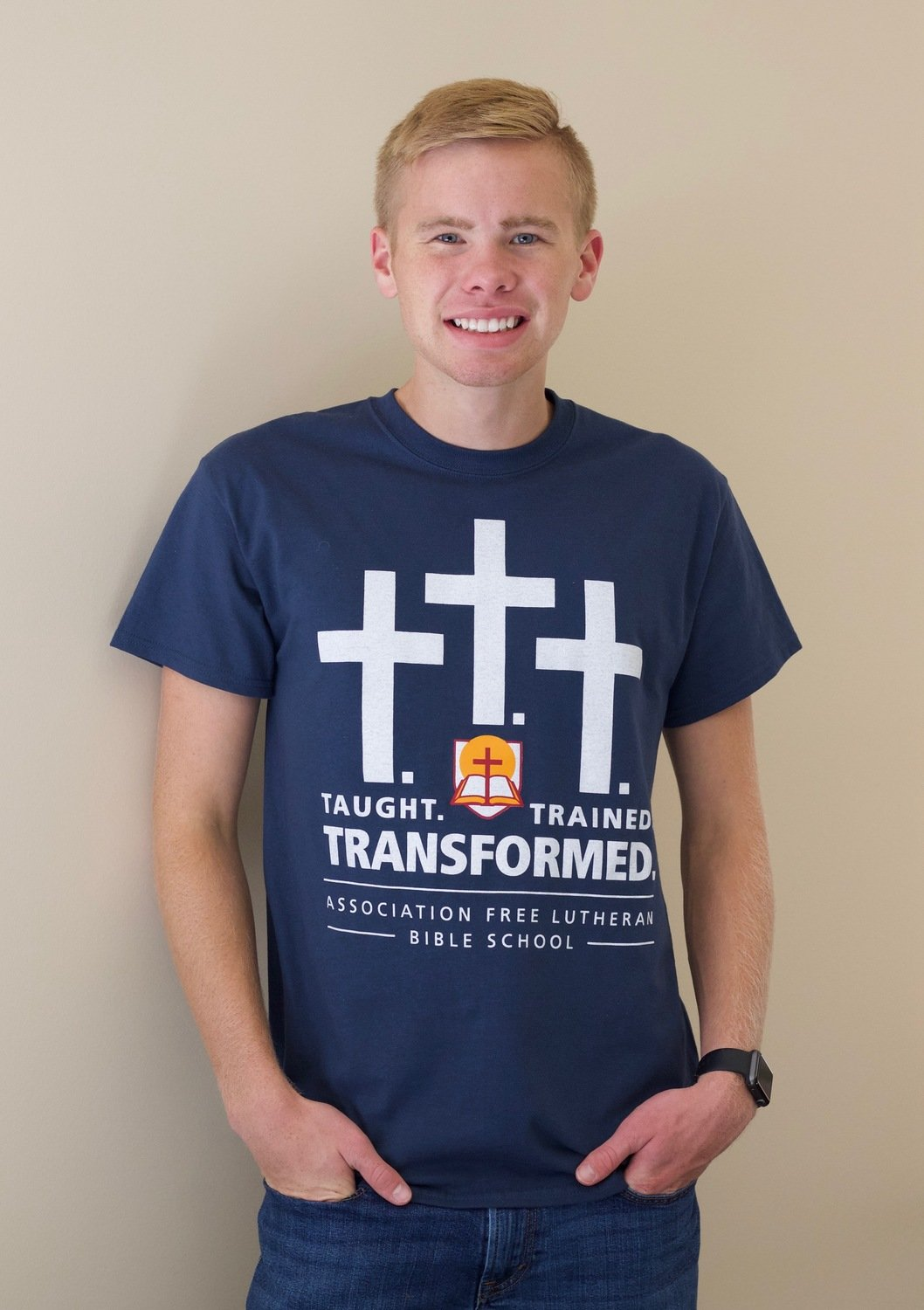 Taught/Trained/Transformed t-shirt