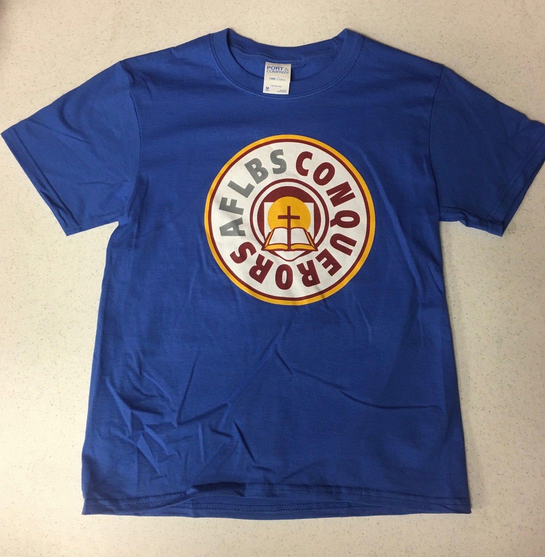 Youth - Royal Blue Circle t-shirt