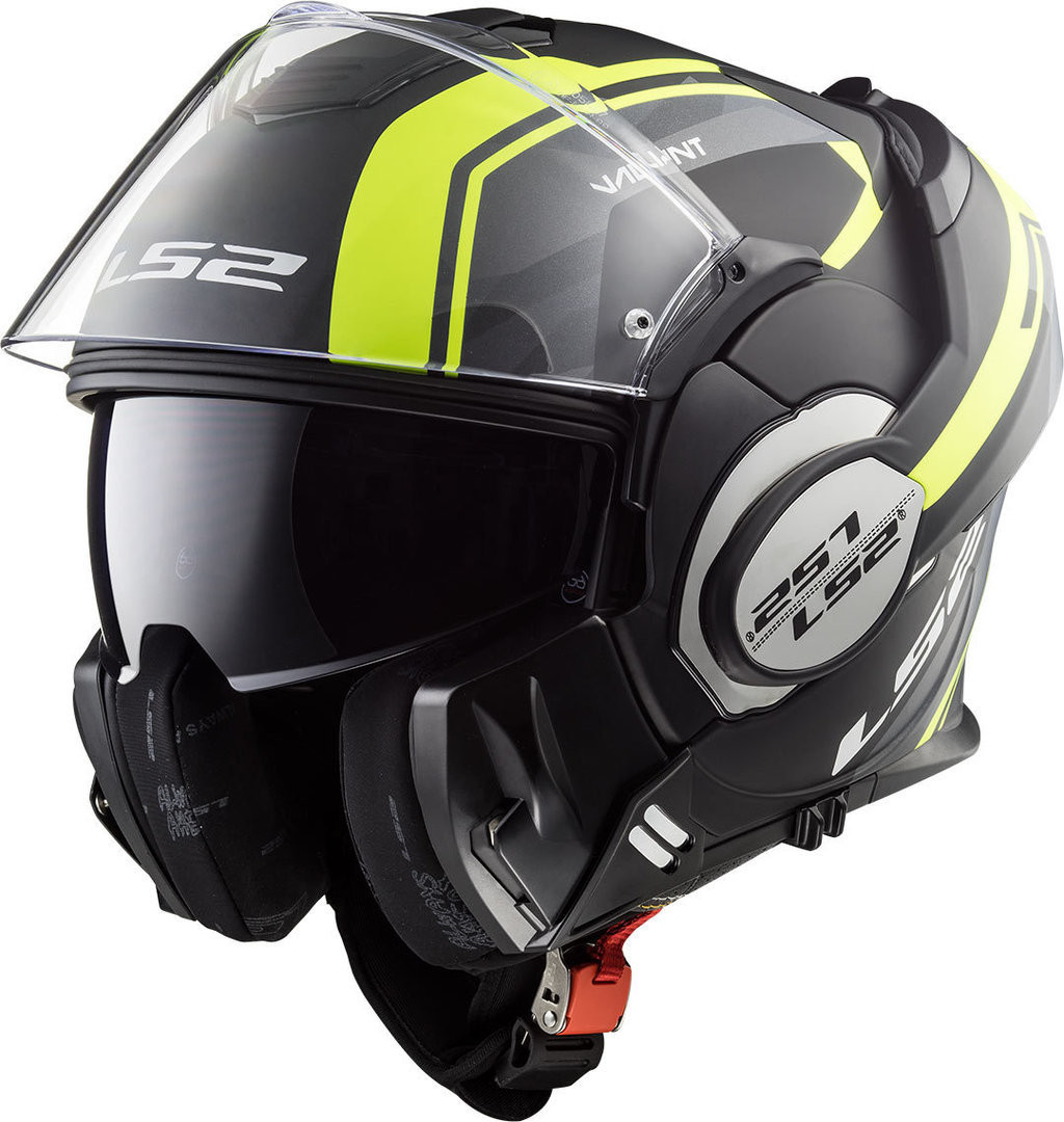 CASCO LS2 MODULARE FF399 VALIANT LINE YELLOW
