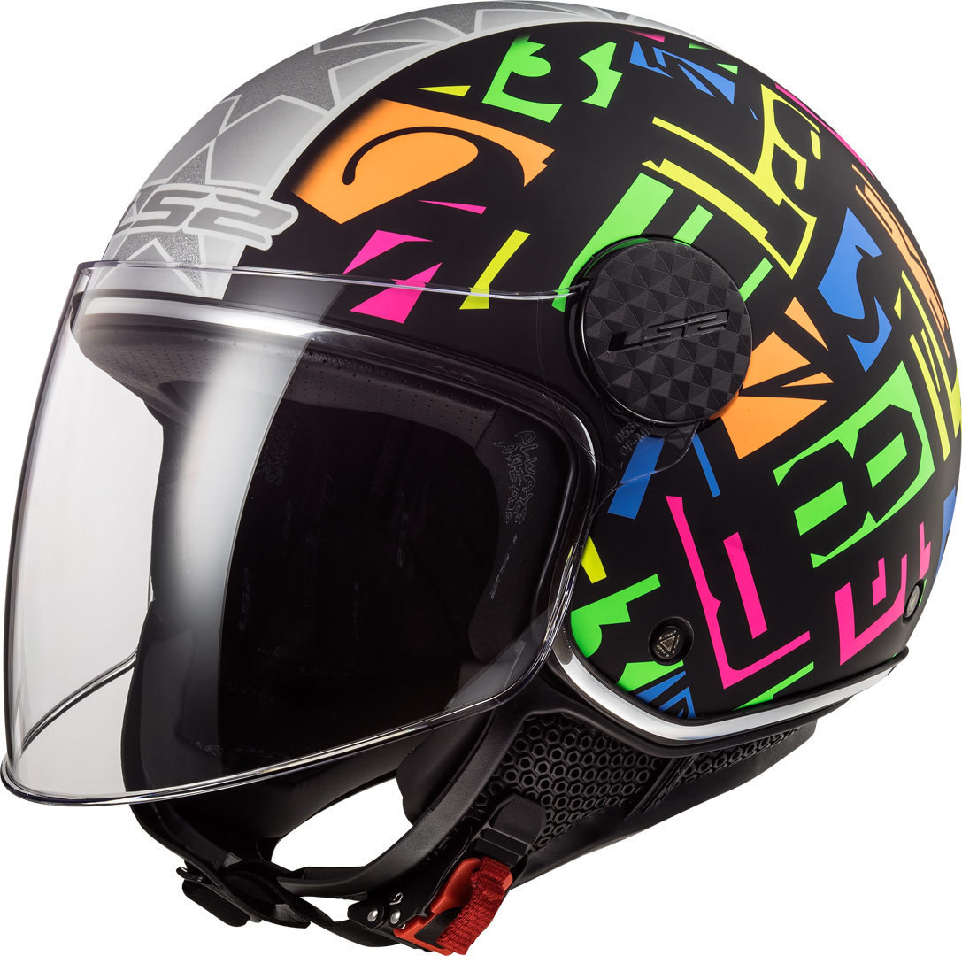 CASCO LS2 JET OF558 SPHERE LUX CRISP