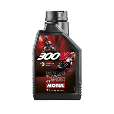 OLIO MOTUL 300V2 ROAD & OFF ROAD 10W50