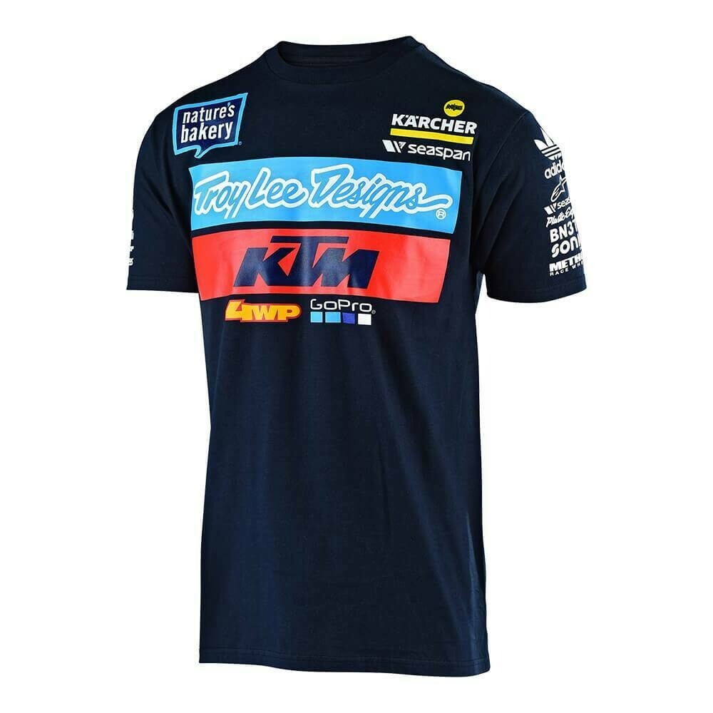 T-SHIRT KTM - TLD colore NAVY