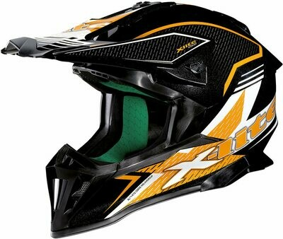 Casco CROSS X-LITE X-502 BACKFLIP ORANGE col. 10