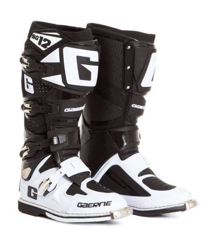 Stivali Cross - Enduro GAERNE SG12 Limited Edition col. Nero/Bianco