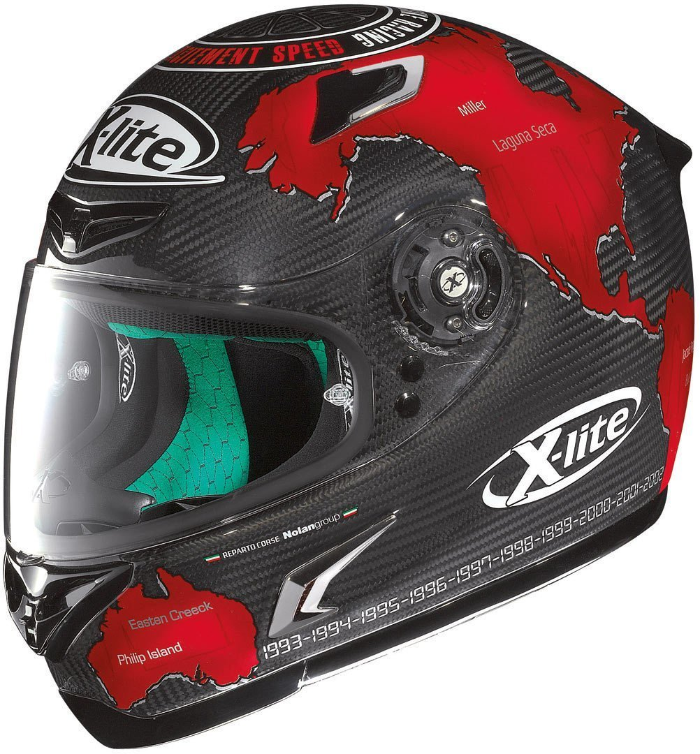 Casco Integrale X-Lite X-802 RR Ultra Carbon replica CHECA