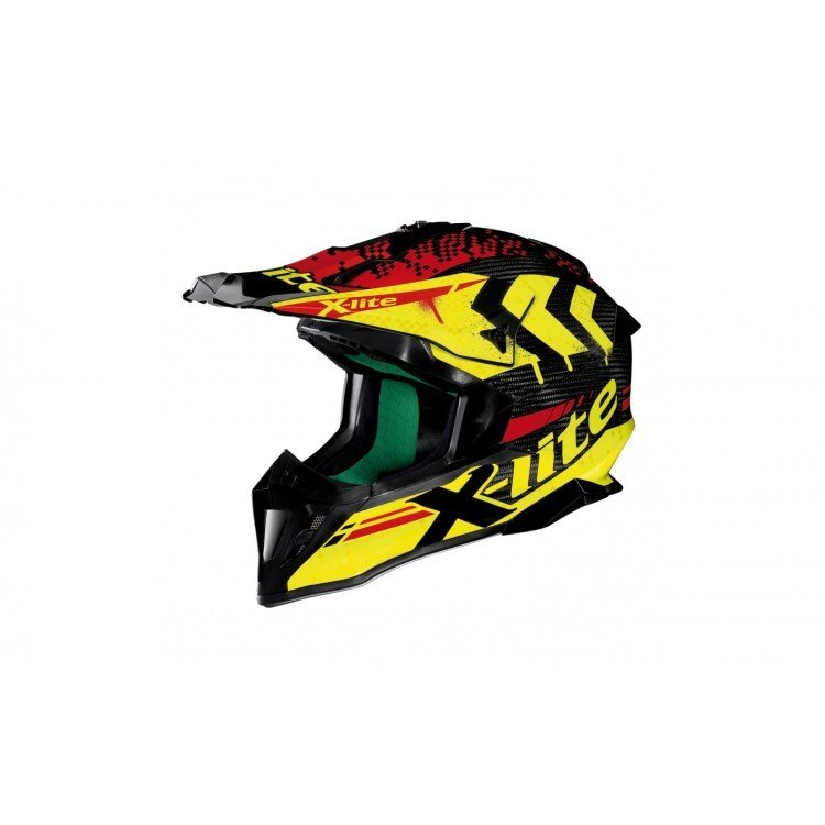Casco CROSS X-LITE X-502 ULTRA CARBON NAC NAC YEL