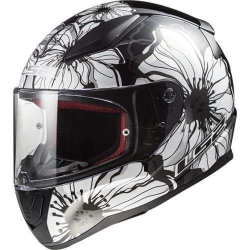 CASCO LS2 FF353 RAPID POPPIES black