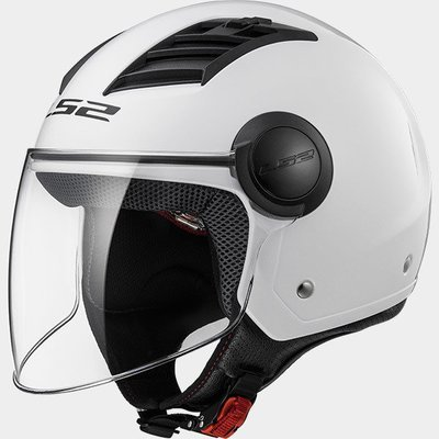 CASCO LS2 JET OF562 AIRFLOW SOLID white