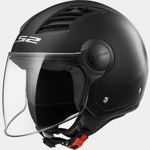 CASCO LS2 JET OF562 AIRFLOW SOLID matt black