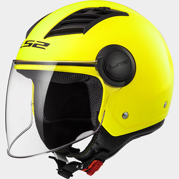 CASCO LS2 JET OF562 AIRFLOW SOLID matt yellow