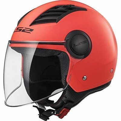CASCO LS2 JET OF562 AIRFLOW SOLID matt orange