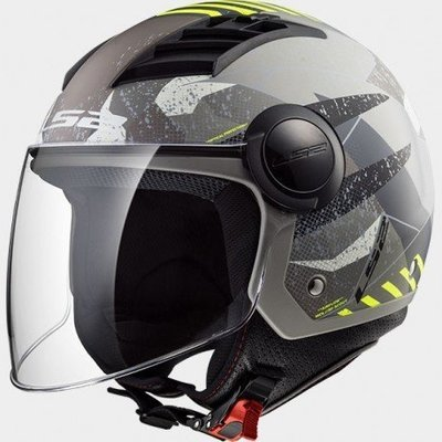 CASCO LS2 JET OF562 AIRFLOW CAMO