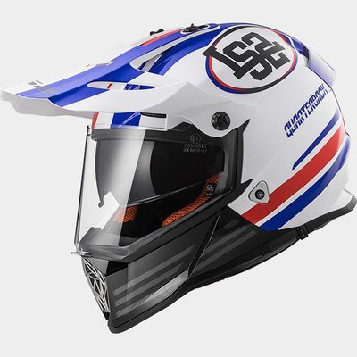 CASCO LS2 CROSS MX 436 PIONEER QUARTERBACK