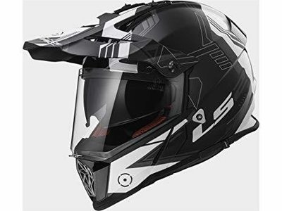 CASCO LS2 CROSS MX 436 PIONEER TRIGGER WHITE