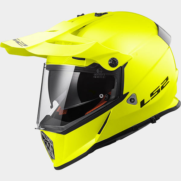 CASCO LS2 CROSS MX 436 PIONEER SOLID YELLOW