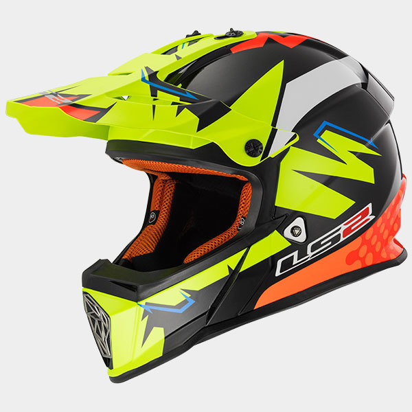 CASCO LS2 CROSS MX 437 FAST VOLT