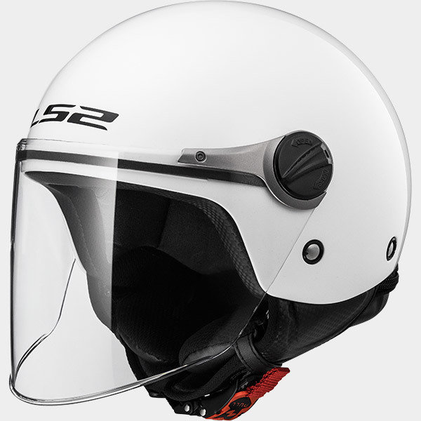 CASCO LS2 JET JUNIOR OF575 SOLID WHITE