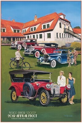 2019 Pierce-Arrow Society Annual Meet Poster - Historic Potawatomi Inn