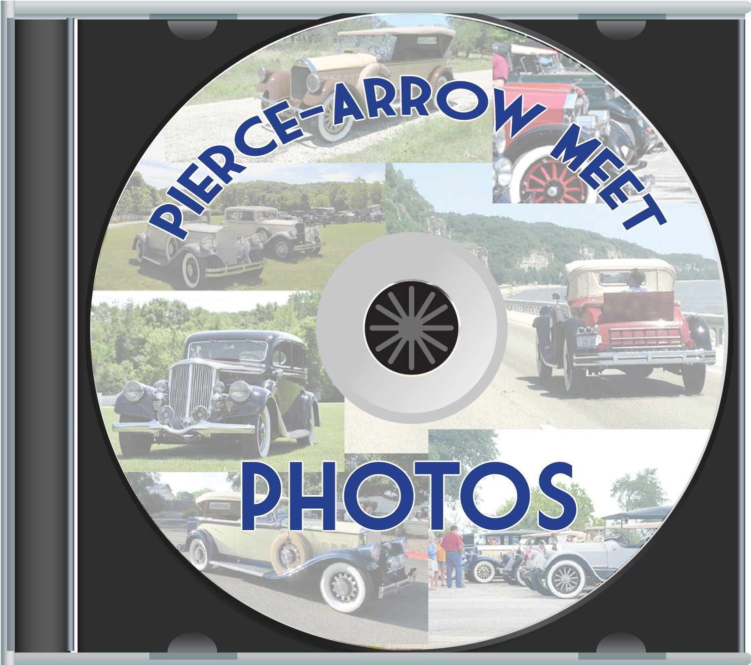 Pierce-Arrow Annual Meet Slide Show CDs