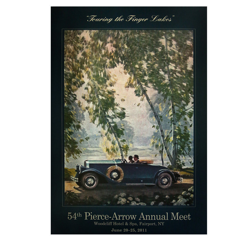 2011 Pierce-Arrow Museum Poster - Fairport, NY