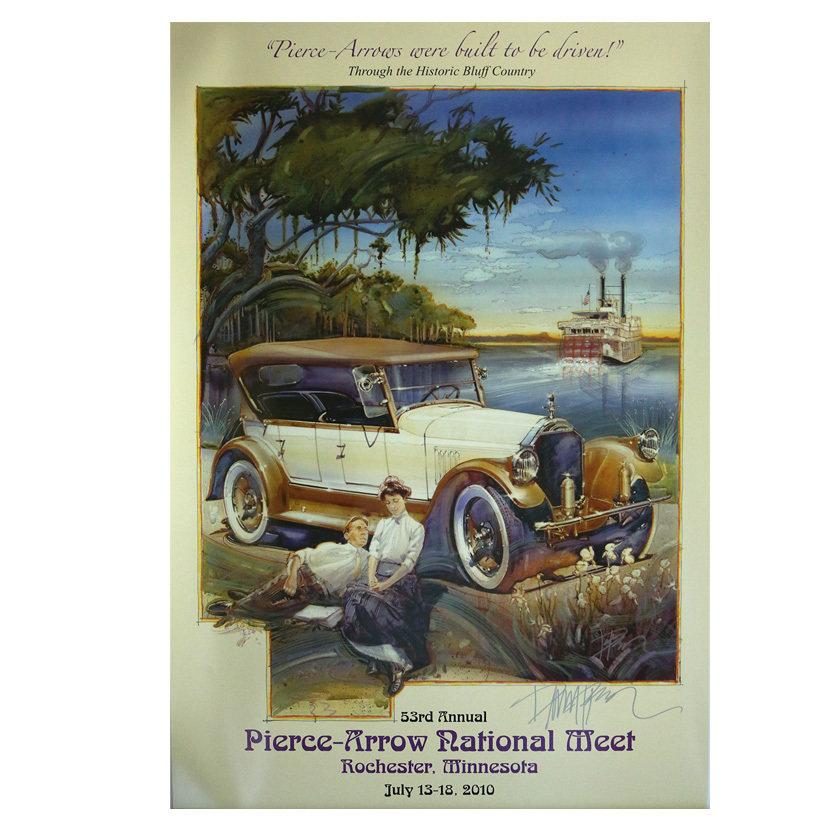 2010 Pierce-Arrow Museum Poster - Rochester, MN