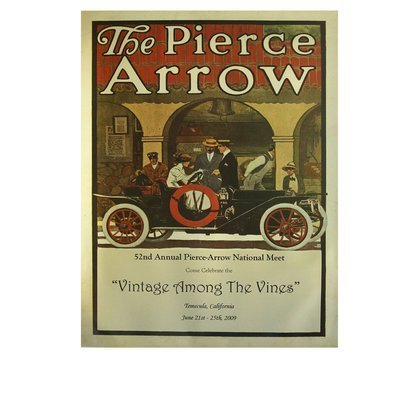2009 Pierce-Arrow Museum Poster - Temecula, CA
