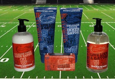 Florida Gators Bath & Shower Gift Set