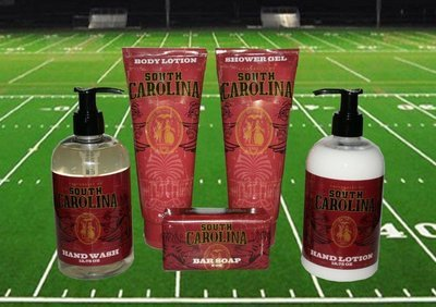 South Carolina Bath & Shower Gift Set