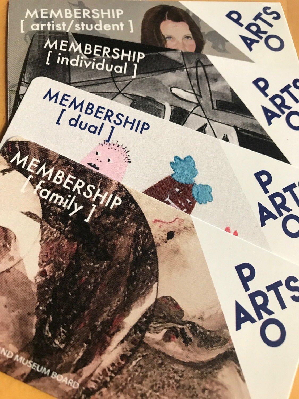 PRO ARTS Membership - 1 Year  (Choose Membership in Menu)