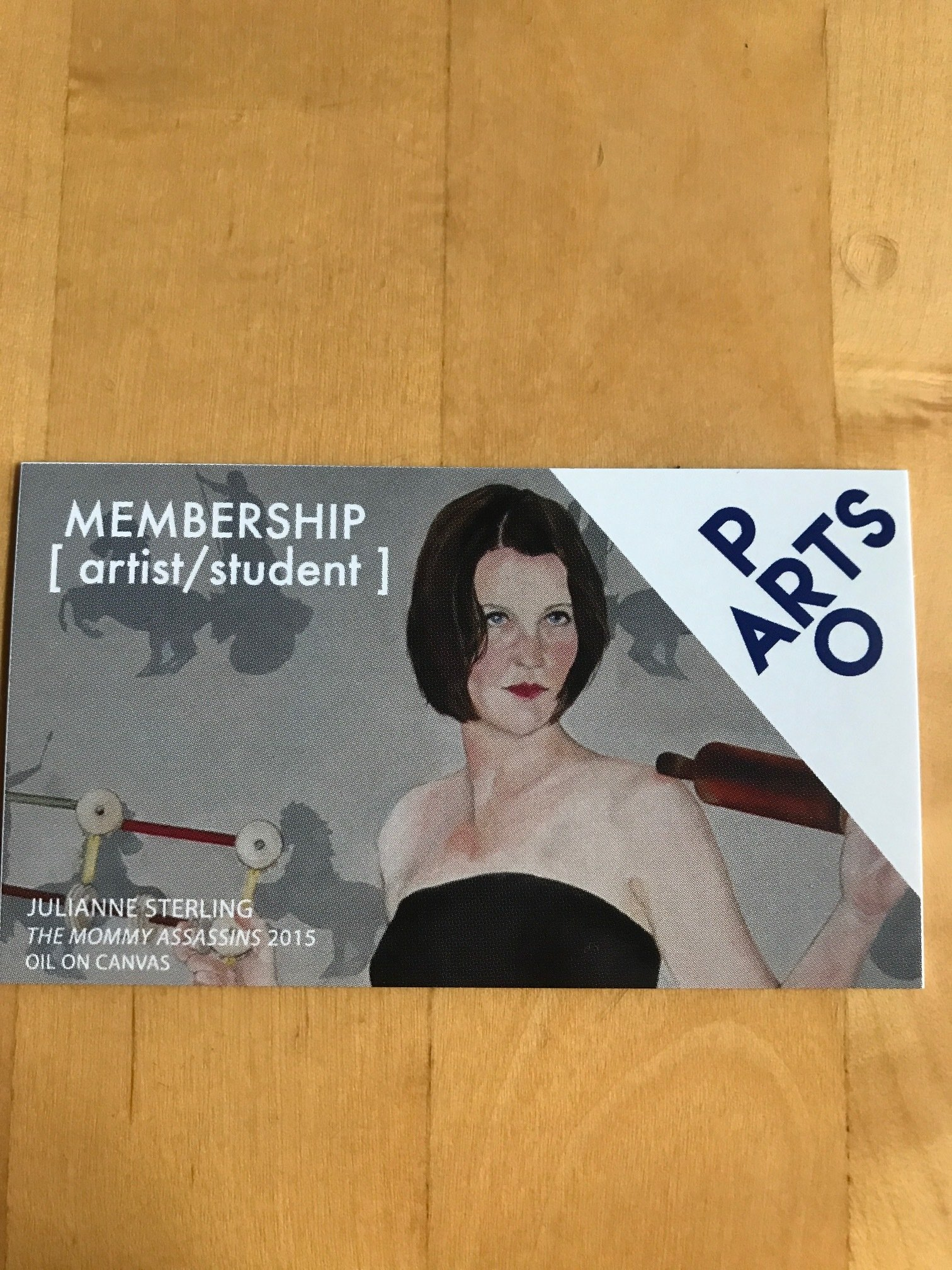 PRO ARTS Membership - 1 Year  (Choose Membership in Menu)