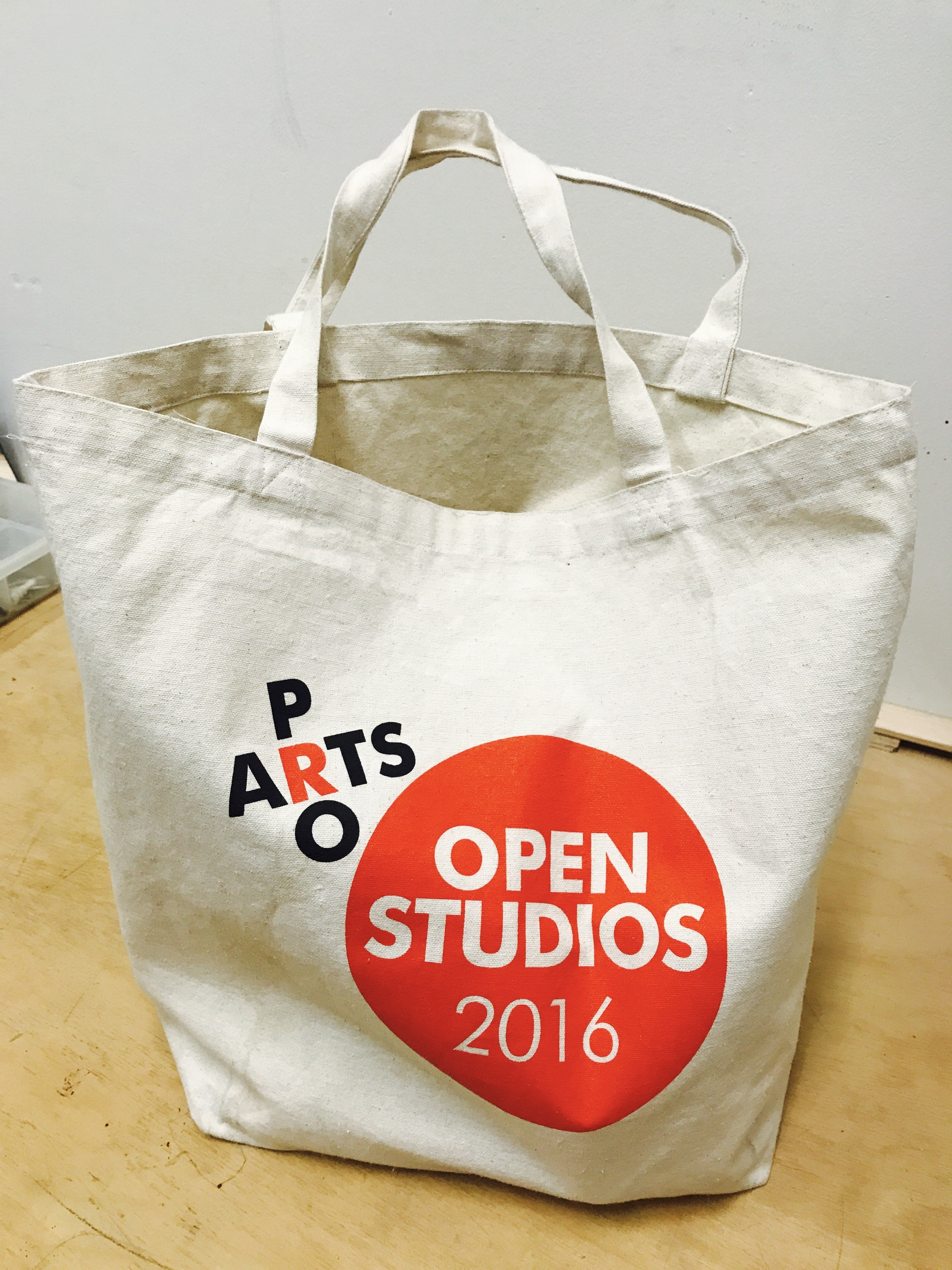 "Pro Arts ""Extra Large""  Canvas  Tote Bag PA001"
