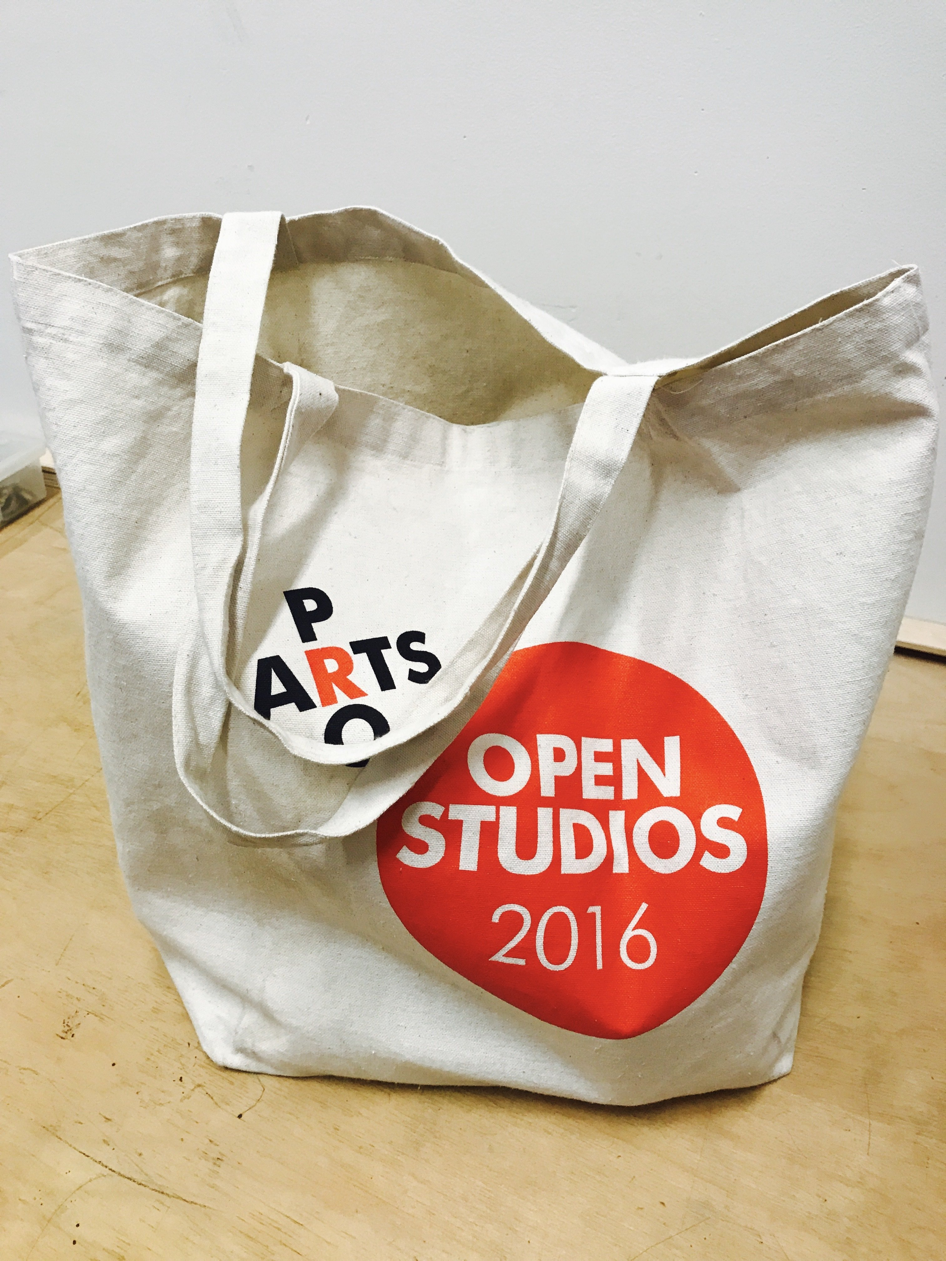 "Pro Arts ""Extra Large""  Canvas  Tote Bag"