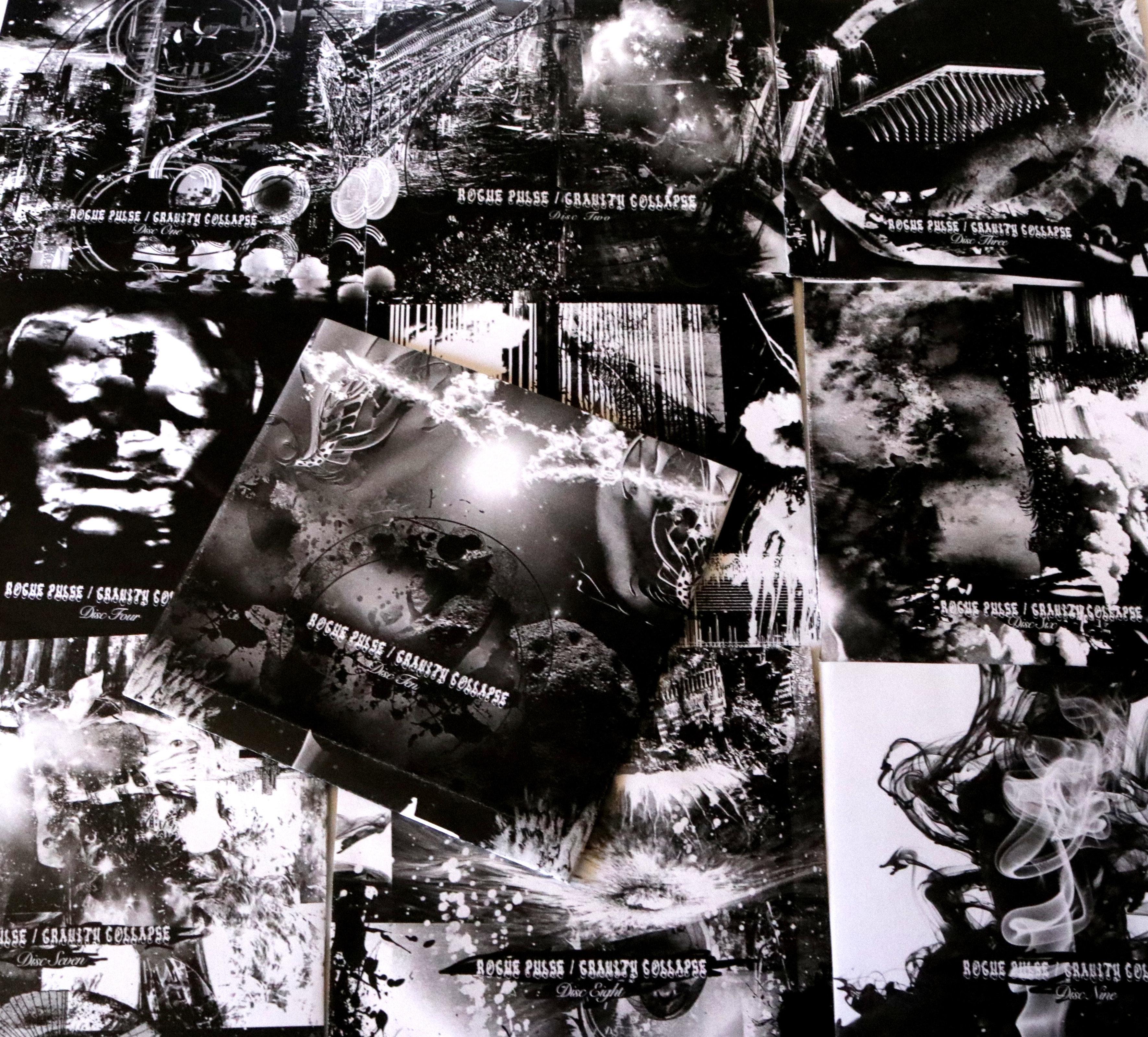 ROGUE PULSE  / GRAVITY COLLAPSE  Ten Disc  Artist Edition Boxset
