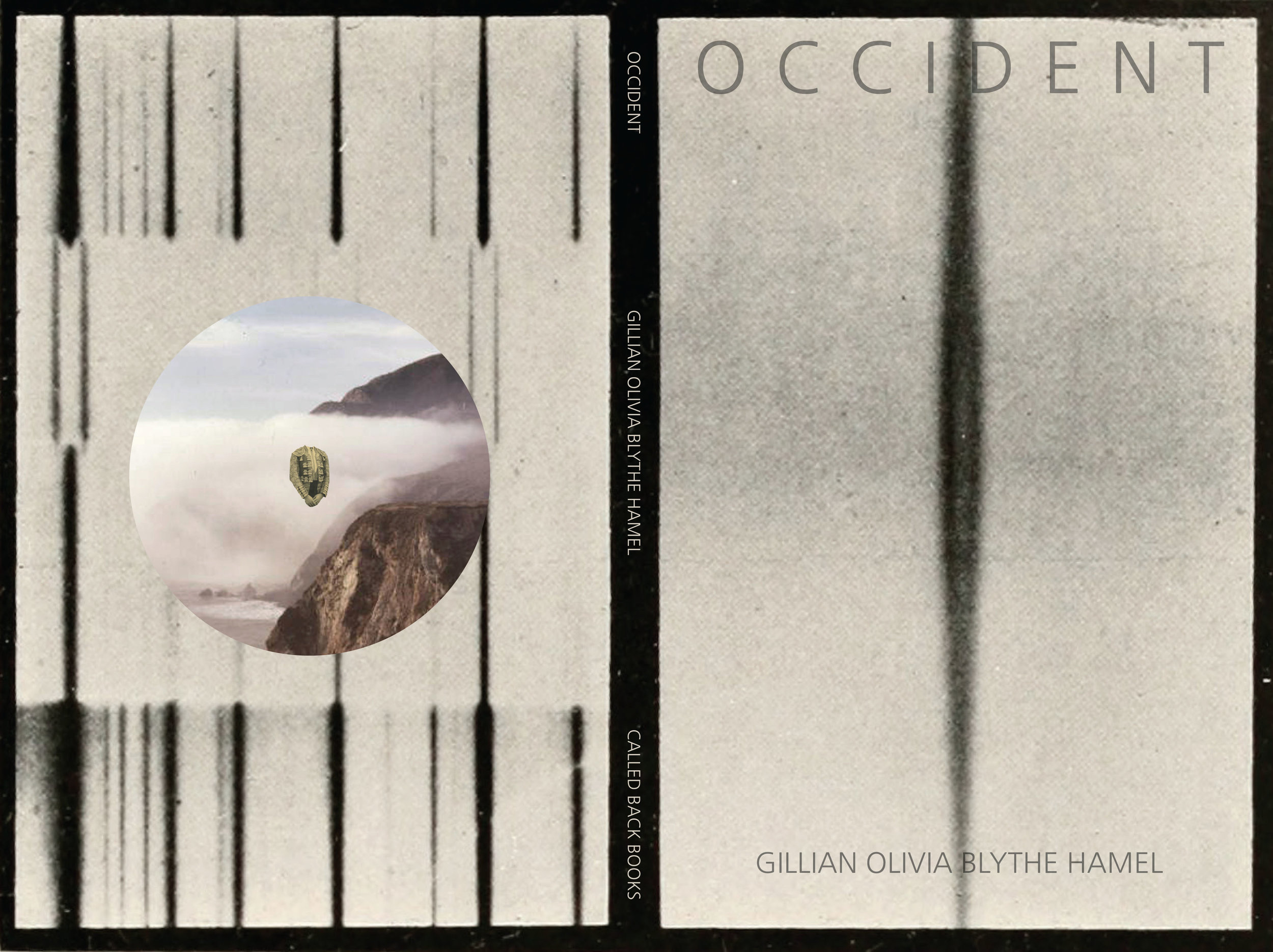 """Occident"" Book  by Gillian Olivia Blythe Hamel PA102"